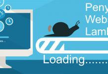 Penyebab website lambat atau lemot